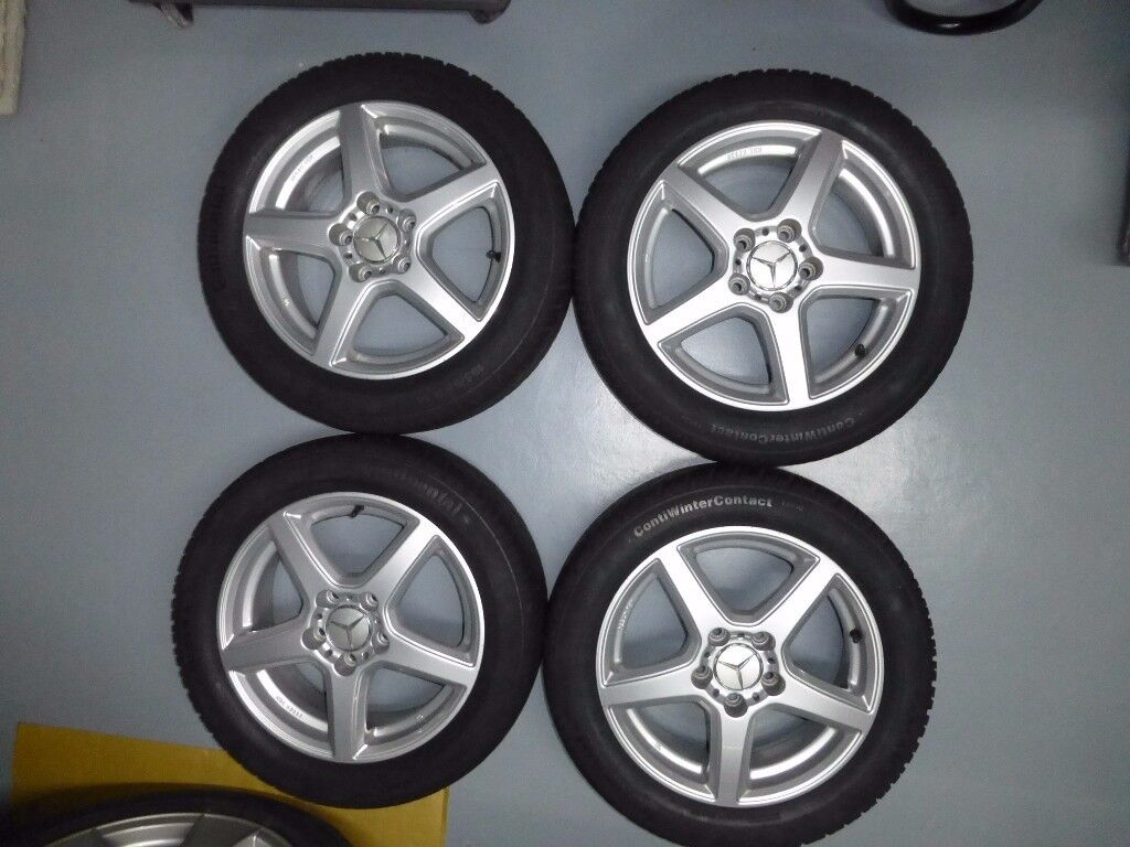 Alloys & winter tyres for Mercedes A-Class