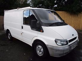04 FORD TRANSIT 2.0 TD T300 MOT 10/17 EX BT VAN GENUINE LOW 82K PLYLINED SIDE DOOR ONE OWNER PX SWAP