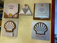 Shell Award Plaques
