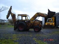 1960 JCB Hydra Digger Loadall 65 based on a Fordson Power Major