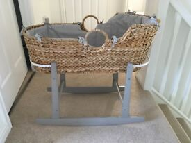 Mamas and Papas Moses Basket Bundle
