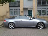 Bmw 6 Series 630I Convertible 2005 With Private Plate 63K Miles FSH 4 Keys