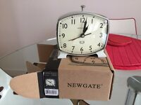 Newgate Toledo Doorstep Alarm Clock, Door Step Grey RRP £30.00 JOHN LEWIS
