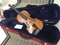 Stentor 4/4 violin in excellent conditions with rosin and shoulder rest