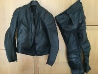 Belstaff leather trousers and coat