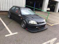 Honda track car