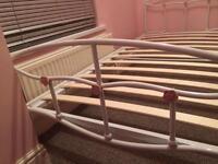 Girls metal single bed