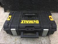 Dewalt tough system DS150 organiser tool box