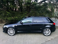 2008 Audi a3 S line 5 door 2.0 tdi 170bhp Low Miles Audi service histroy outstanding condition!