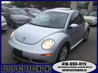 2008 Volkswagen Beetle AUTO ,LEATHER &SUNROOF