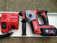Milwaukee M18BH-0 18V Compact SDS Hammer Drill EX DISPLAY