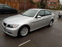 BMW 320I 2.0 SE Petrol Fully Automatic, 4 Door Saloon 2005, Silver, Only 64542 miles. FOR SALE £3495