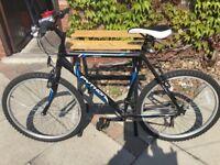 Bicycle Hardly used Python Rock aluminium frame