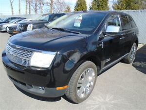2008 Lincoln MKX LIMITED AWD MAGS TOIT PANO CUIR NAVI TV/DVD