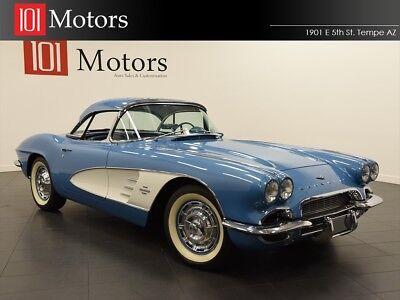 1961 Blue Chevrolet Corvette Convertible  | C1 Corvette Photo 1