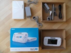 boxed & fully working nintendo Wii U CONSOLE - WUP-001