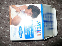Avent Naturally 31 Pre-Sterilised Disposable Bottle Bags/Liners, good for traveling.