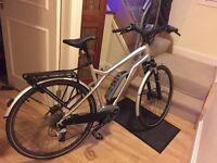 "Moustache Samedi 28"" wheels Silver Gents 2015 Bosch Electric Bike"