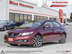 2013 Honda Civic Touring w Navi & Leather