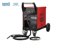 Sealey MIGHTYMIG190 Professional Gas/NoGas MIG Welder 190Amp With Euro Torch