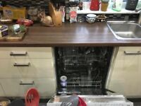 Complete ikea with hob and dishwasher