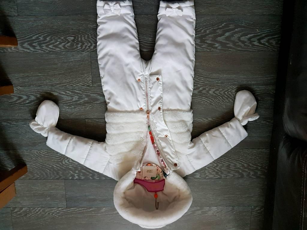 6a2f9a400477 Ted baker 12-18 months Snowsuit