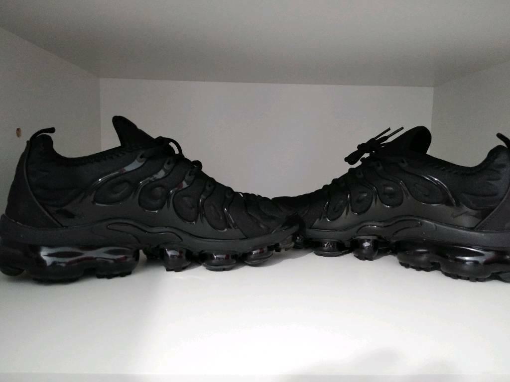 1f1f6e516ef0e Nike Vapormax Plus Triple Black
