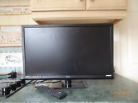 """24"""" TEchnica LED TV. Full HD-Freeview-USB Recording"""