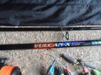 Daiwa Vulcan X fishing rod.