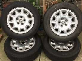 Jaguar xj8 wheels etc.