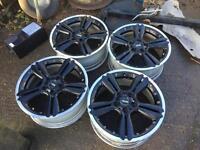 "Mini 18"" genuine split rim alloy wheels"