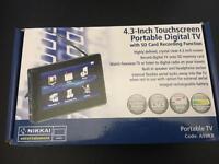 Nikkai 4.3 inch Touchscreen portable digital TV