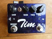 Tim Overdrive Pedal - PRICE DROP