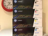 Genuine HP Toner - HP 201A B/C/M/Y - £150 OBO