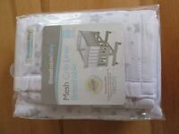 Breathable baby crib mesh liner (BRAND NEW!!!)
