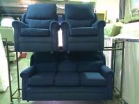 3 Seat Sofa and 2 Chairs..ONLY 30.00