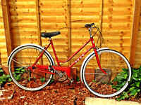 LADIES TRADITIONAL TOWN BIKE VGC 3 SPD STURMEY & ARCHER GEARS