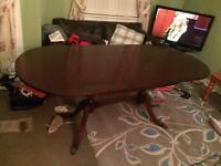 Strongbow Mahogany dining table