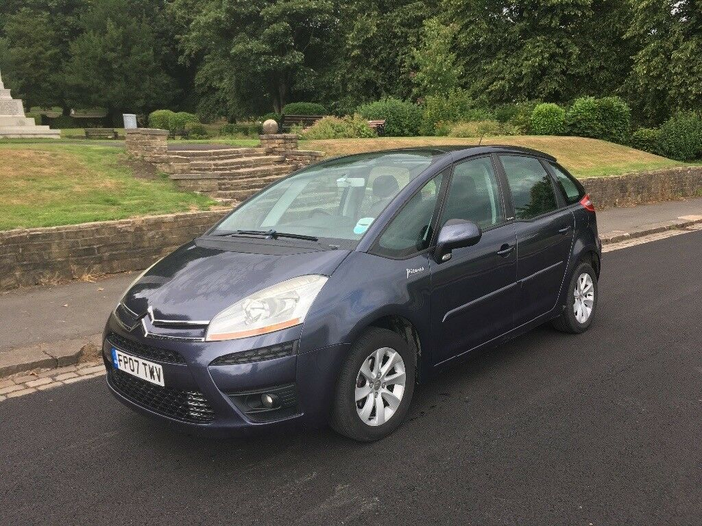 2007 citroen c4 picasso in great harwood lancashire. Black Bedroom Furniture Sets. Home Design Ideas