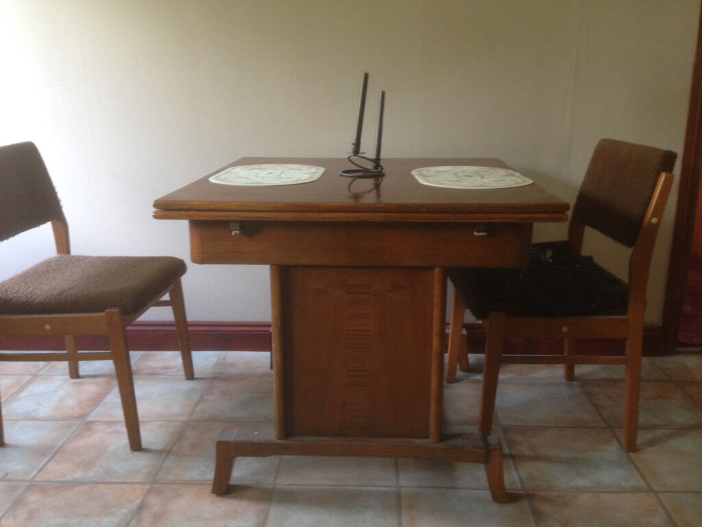 Vintage Wooden Dining table extendable 16340 ono in  : 86 from www.gumtree.com size 1024 x 768 jpeg 76kB