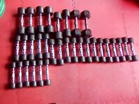 Selection of Dumbbells