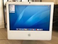 Apple G5 iMac screen and power cable only