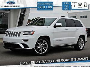 2014 Jeep Grand Cherokee SUMMIT**DIESEL*CRUISE ADAPTATIF**