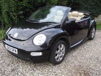 Volkswagen Beetle 2.0 2dr***£3,450*** p/x welcome LOW MILEAGE ** 6 MTHS WARRANTY