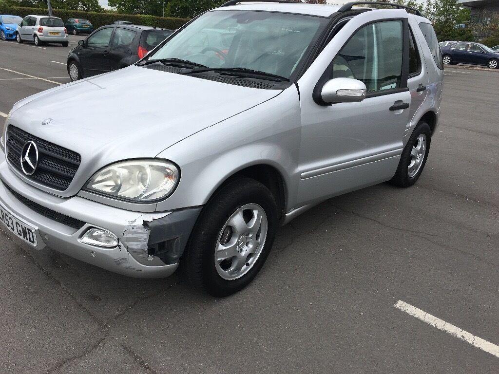 2003 Mercedes benz 7 seater Ml 350 3.7 petrol cheap car ...