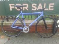 Fixie bike with Aluminium frame - single speed