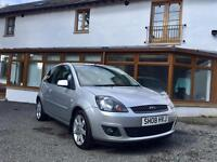 FORD FIESTA 1.25 ZETEC BLUE EDITION 3DR [1 PREVIOUS OWNER / MOT MARCH 2018 / LOVELY EXAMPLE]