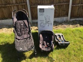 Joie brisk + travel system & car seat
