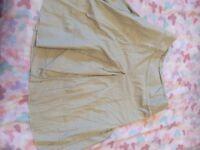 Beige Skirt Size 12