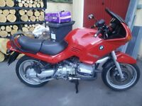 Lovely old BMW R1100RS with 12 months MOT & massive history file.